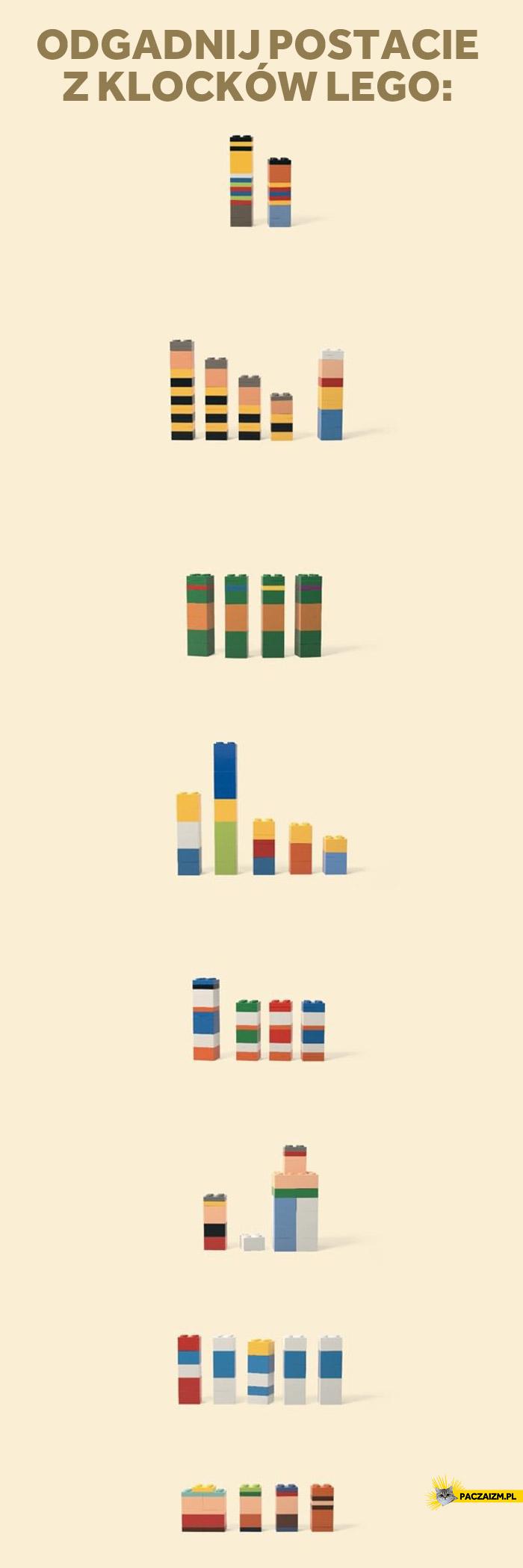 Lego zgadnij kto to