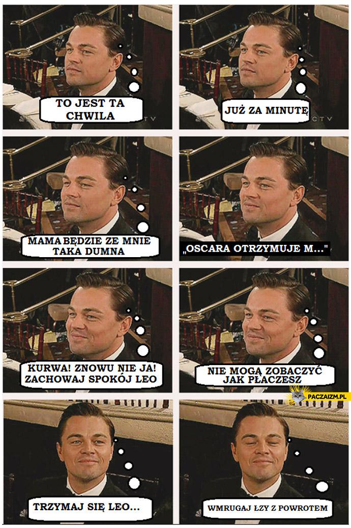 Leo nie dostał Oscara