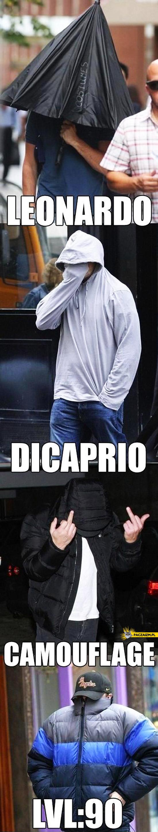 Leonardo Dicaprio kamuflaż