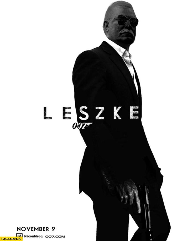 Leszke 007 James Bond Wałęsa