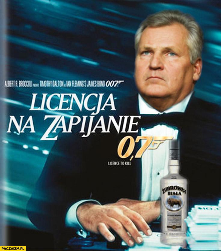 Licencja na zapijanie 0,7 Kwaśniewski