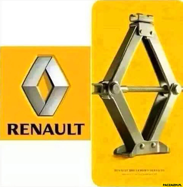 Logo Renault wyjaśnione znaczenie lewarek