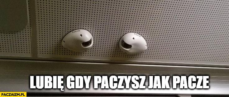 Lubię gdy paczysz jak paczę kamery skierowane na siebie MPK Łódź