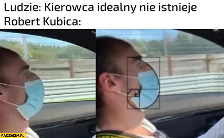 Ludzie: kierowca idealny nie istnieje, Robert Kubica golden ratio