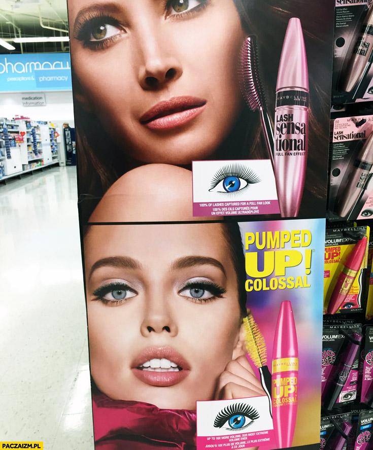 Łysa laska reklamy kosmetyków fail