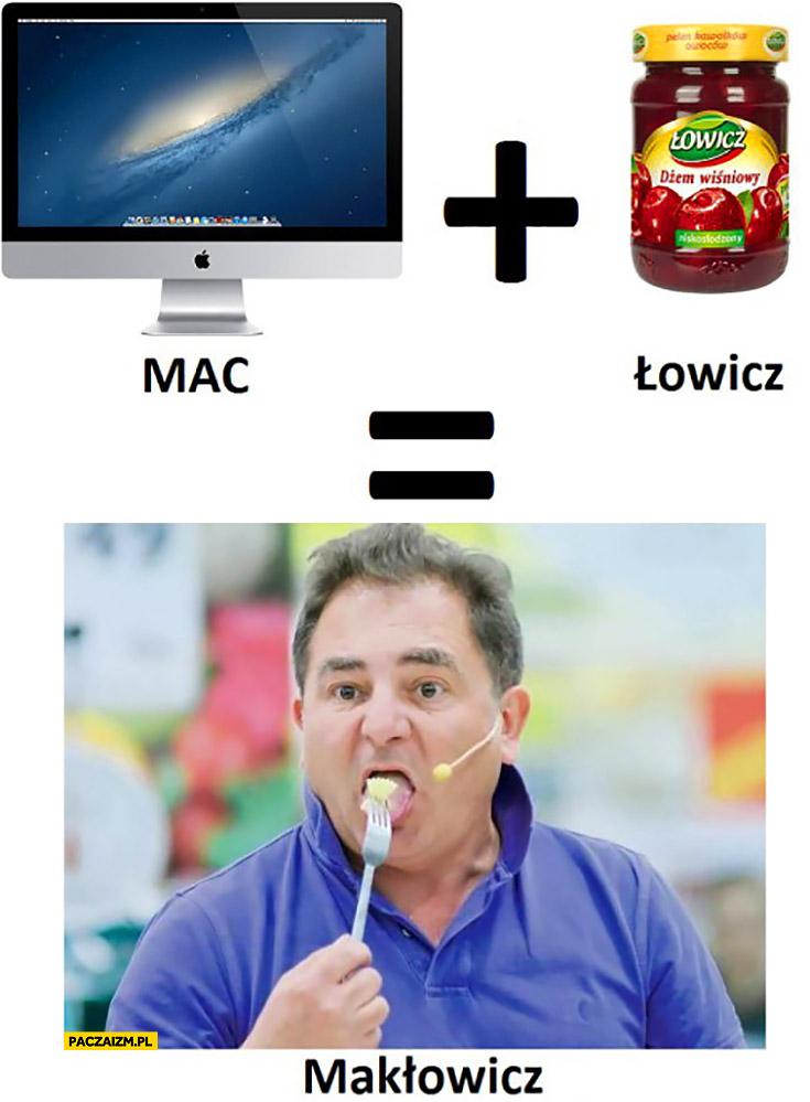 Mac plus Łowicz Makłowicz
