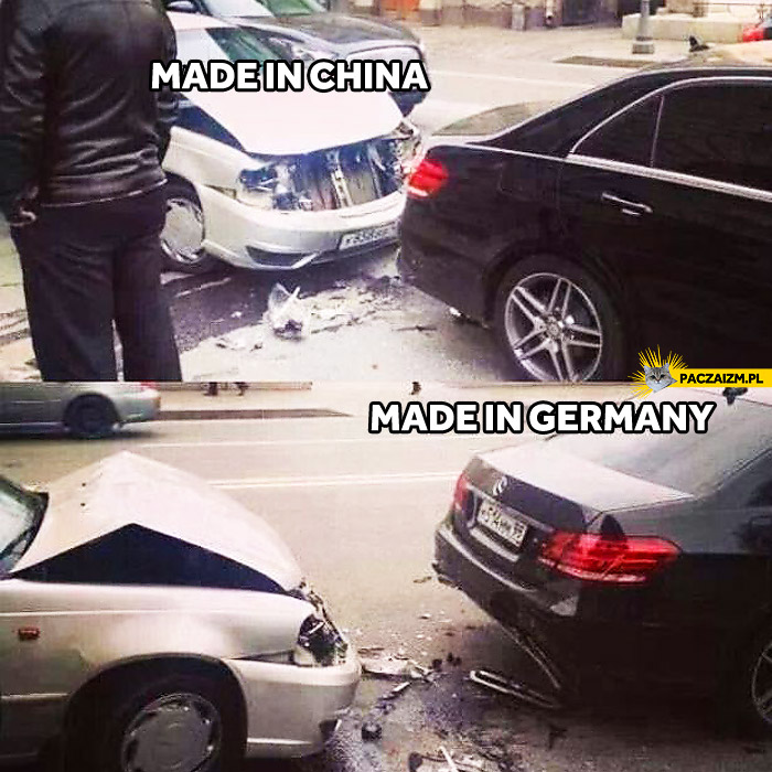 Made in china made in germany mercedes for Mercedes benz made in germany