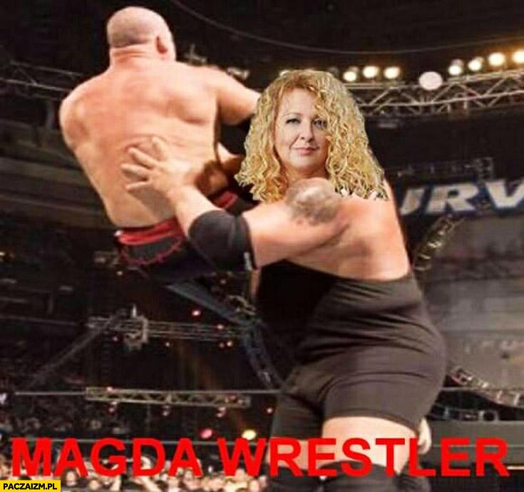 Magda Wrestler Gessler