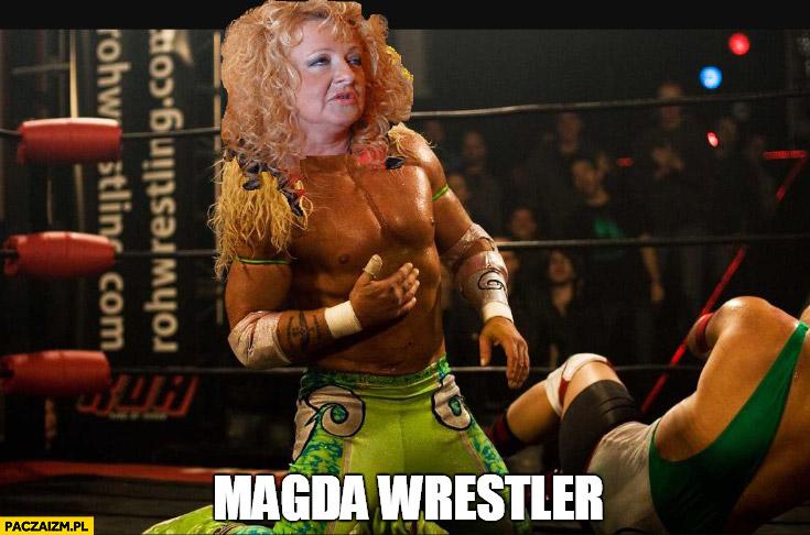 Magda wrestler Magda Gessler