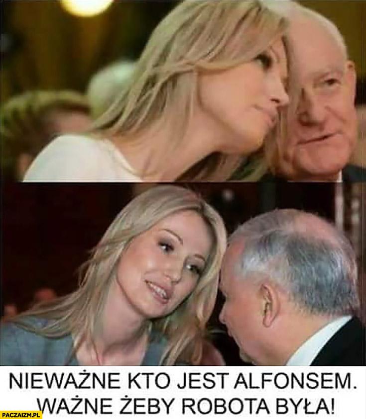 Magdalena Ogórek nieważne kto jest alfonsem, ważne żeby robota była Miller Kaczyński