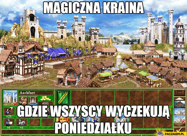 Magiczna kraina gdzie wszyscy wyczekują poniedziałku Heroes