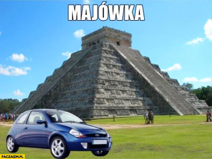 Majówka Ford Ka majów