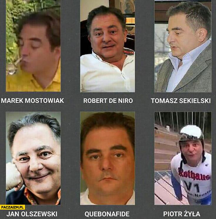Makłowicz Marek Mostowiak Robert de Niro, Tomasz Sekielski, Jan Olszewski, Quebonafide, Piotr Żyła