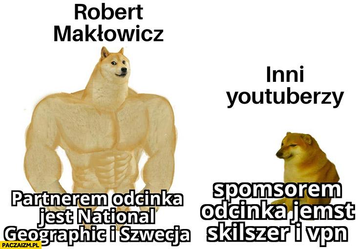 Makłowicz partnerem odcinka jest National Geographic i Szwecja vs inni youtuberzy sponsorem odcinka jest skilszer i vpn