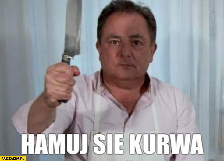 Makłowicz z nożem hamuj się kurna Jabłonowski