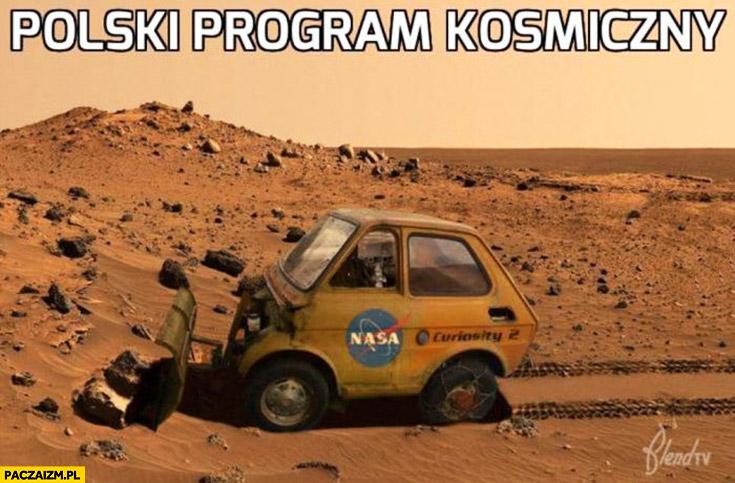 Maluch sonda curiosity polski program kosmiczny Fiat 126p