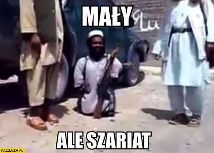 Mały ale szariat karzeł kurdupel muzułmanin