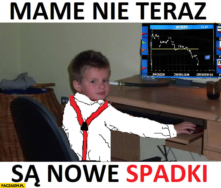 WIG20 memy – Paczaizm.pl | memy polityczne, śmieszne obrazki