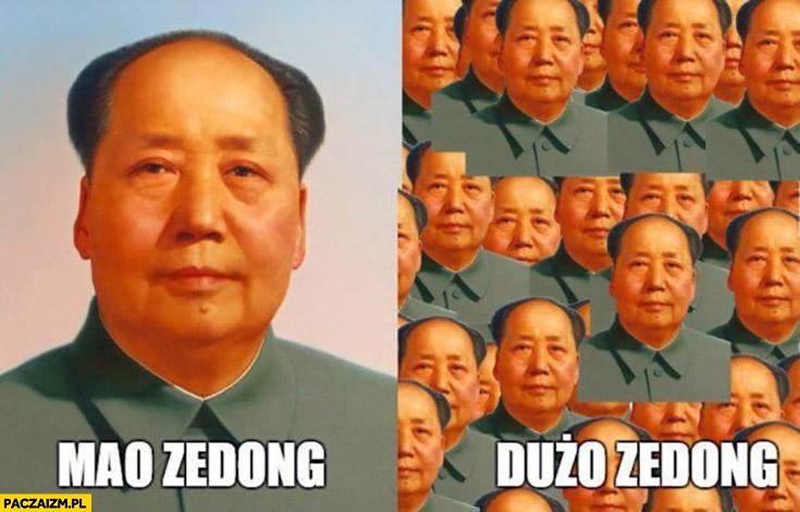 Mao Zedong, Dużo Zedong