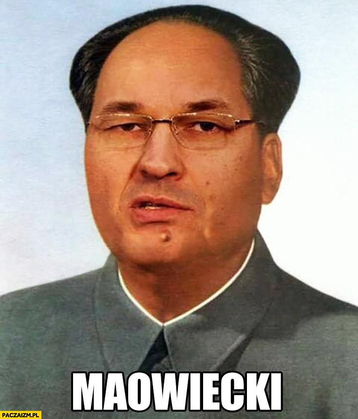 Maowiecki Morawiecki Mao Zedong przeróbka