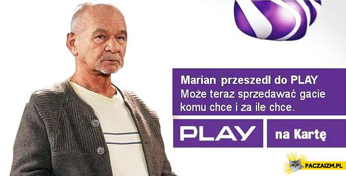 Marian przeszedł do Play
