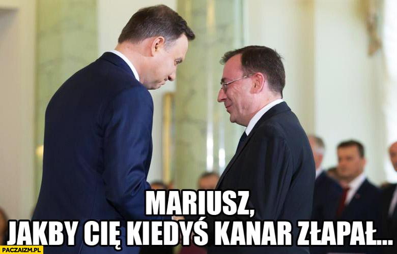 Mariusz jakby Cię kiedyś kanar złapał Duda Kamiński