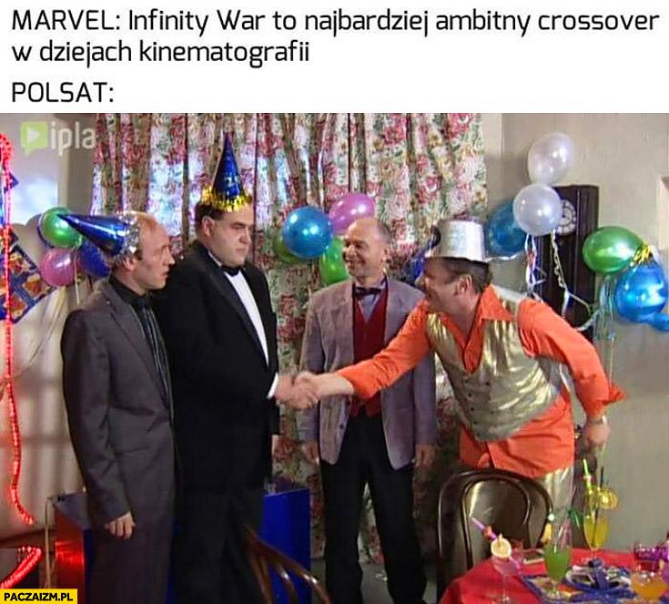 Marvel: Infinity War to najbardziej ambitny crossover w dziejach kinematografii, Polsat na to Kiepscy i Miodowe Lata