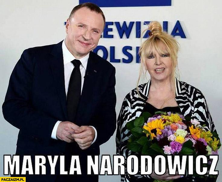 Maryla Narodowicz Jacek Kurski Opole TVP