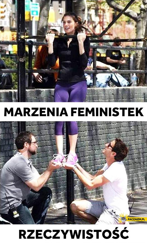 Marzenia feministek a rzeczywistość