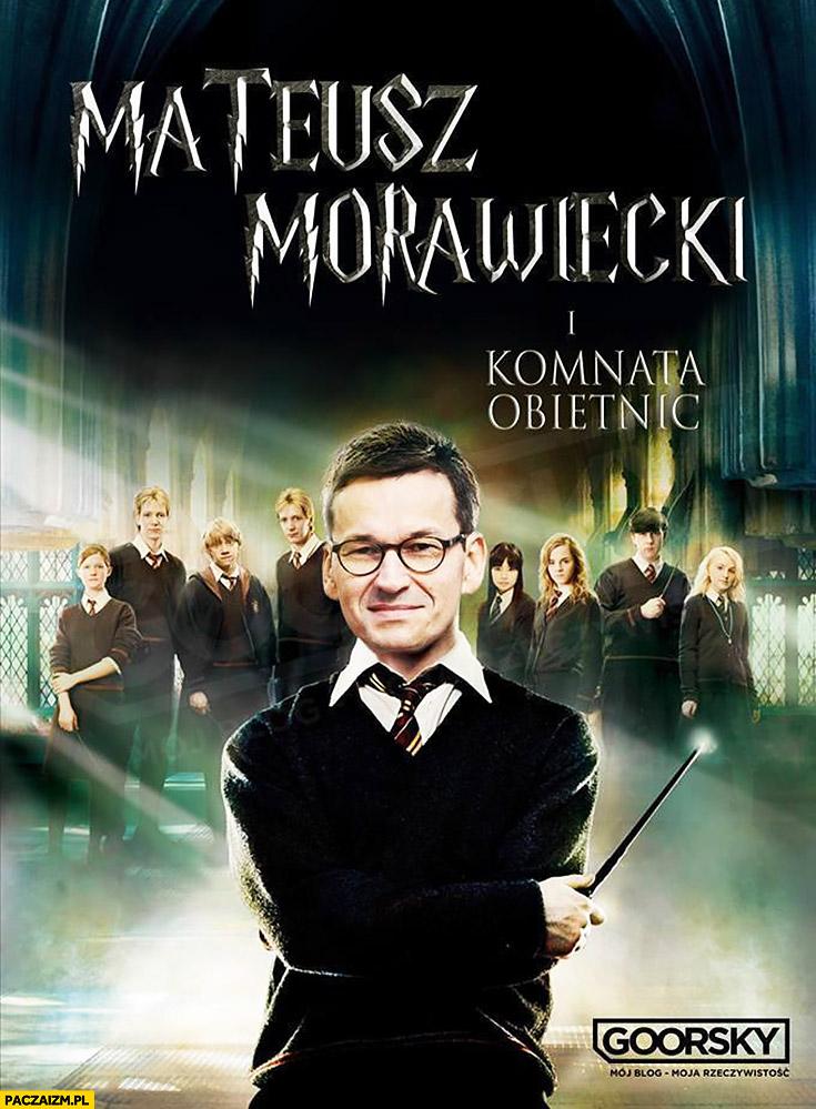 Mateusz Morawiecki i komnata obietnic Harry Potter PiS