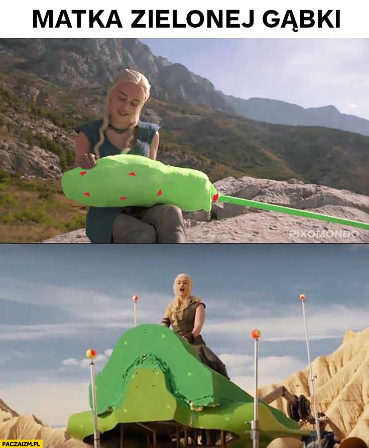 Matka zielonej gąbki Daenerys Gra o Tron