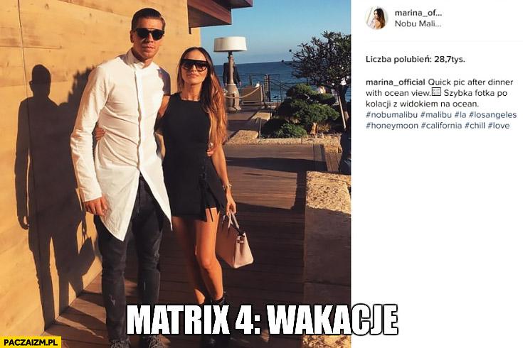 Matrix 4: wakacje Szczęsny Marina