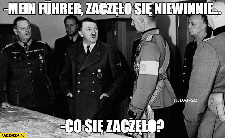 Mein Fuhrer zaczęło się niewinnie. Co się zaczęło? Bitwa pod kebabem Ełk hitler