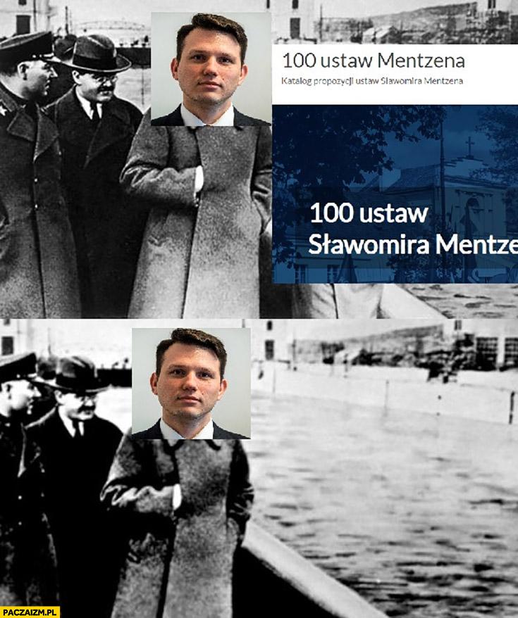 Mentzen 100 ustaw Mentzena znika wycięte usunięte
