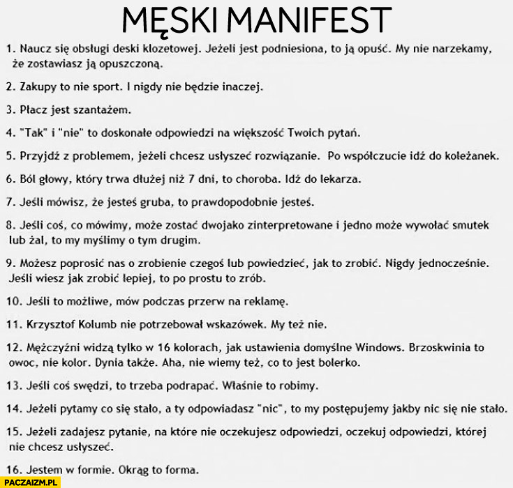 Męski manifest
