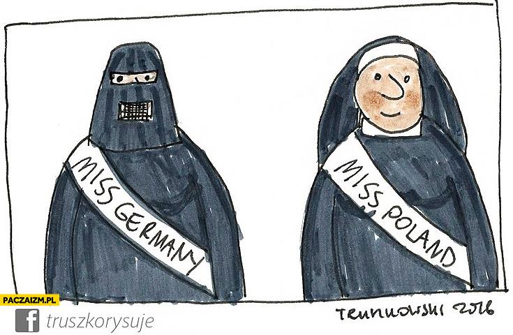 Miss Niemiec w burce, Miss Polski siostra zakonna