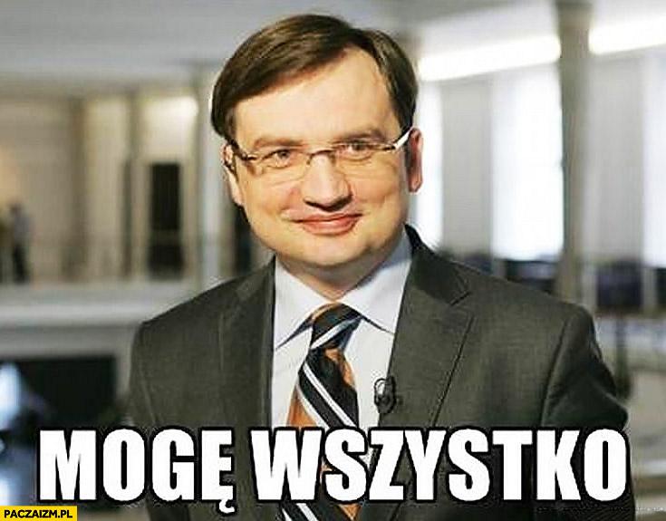 Mogę wszystko Zbigniew Ziobro