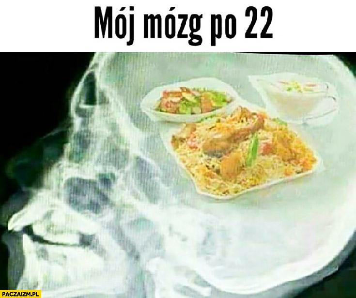 Mój mózg po godzinie 22 myśli tylko o jedzeniu