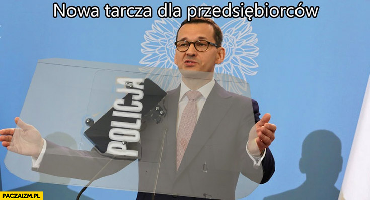 Morawiecki nowa tarcza dla przedsiębiorców policyjna