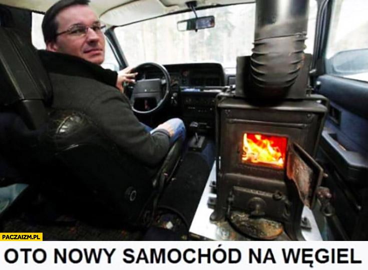 Morawiecki oto nowy samochód na węgiel