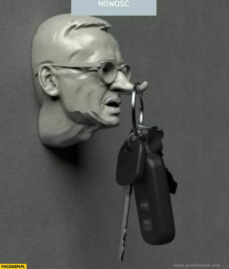 Morawiecki Pinokio wieszak na klucze długi nos