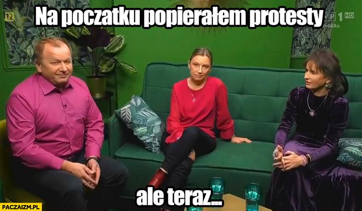 Motel polska na początku popierałem protesty ale teraz
