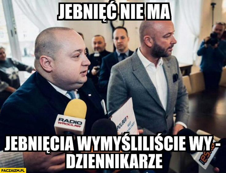 MPK Wrocław jebnięć nie ma, jebnięcia wymyśliliście wy dziennikarze