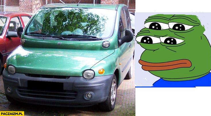 Multipla smutna żaba