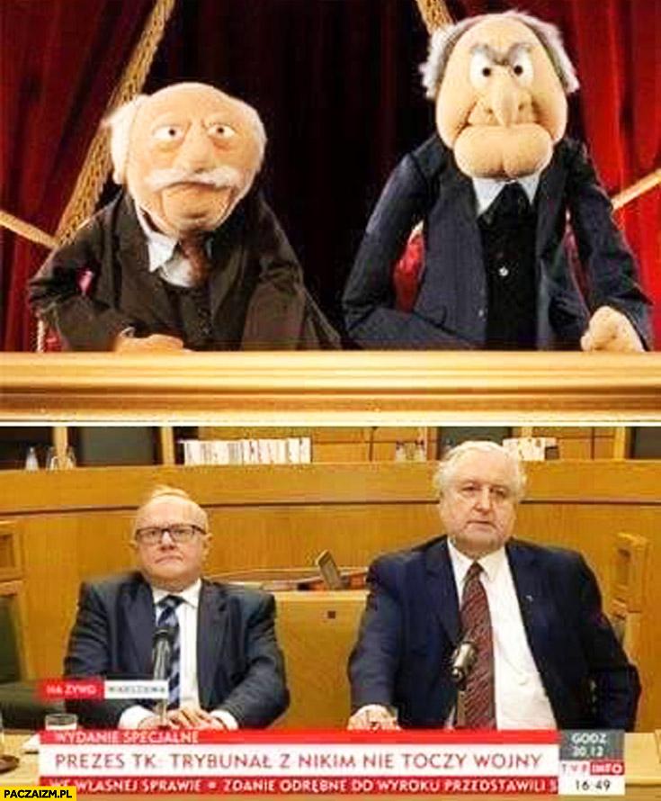 Muppety mapety Statler Waldorf Rzepliński Trybunał Konstytucyjny porównanie