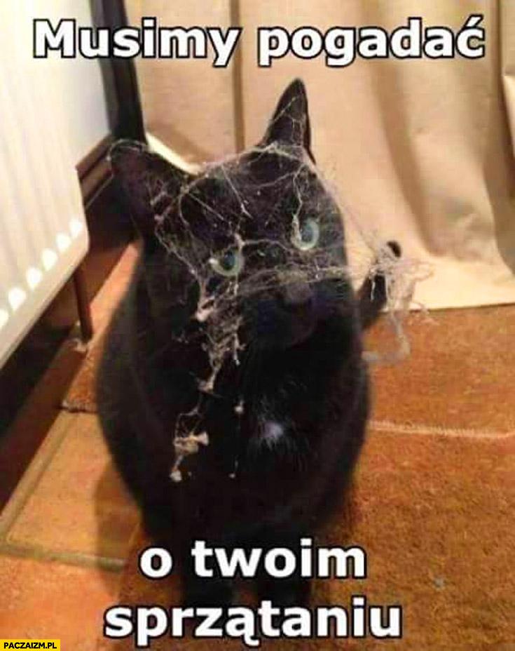 Musimy pogadać o Twoim sprzątaniu kot