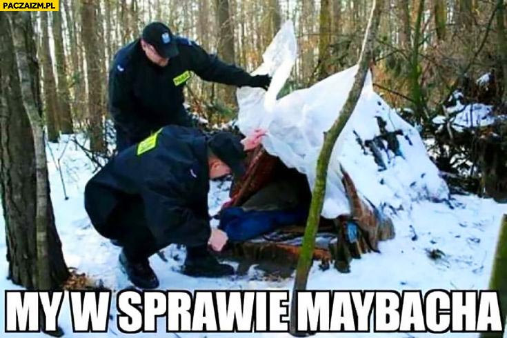 My w sprawie Maybacha policjanci do bezdomnego od darowizny dla Rydzyka