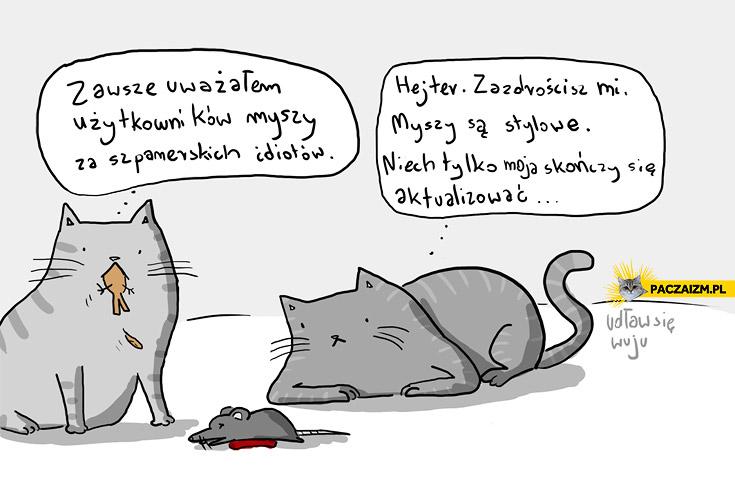 Myszy są stylowe