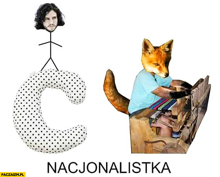 Nacjonalistka na C Jon a lis tka