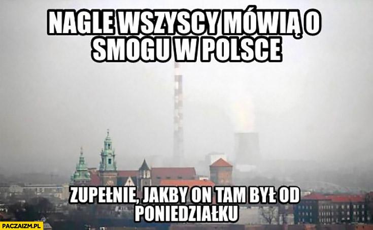 Nagle wszyscy mówią o smogu w Polsce zupełnie jakby on tam był od poniedziałku